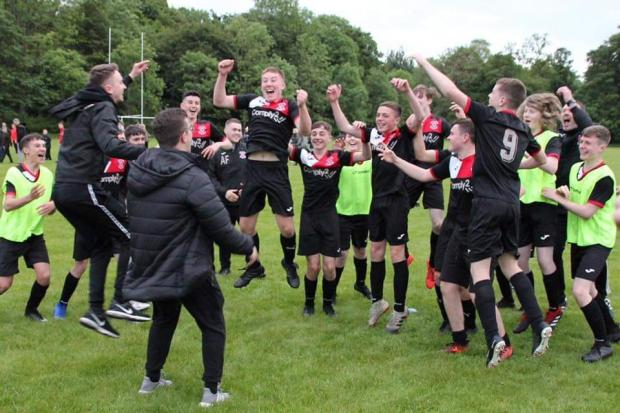 Clydebank Post: Celebrations begin after penalty shootout win