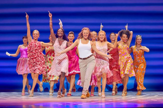 Mamma Mia is to return to the Glasgow stage
