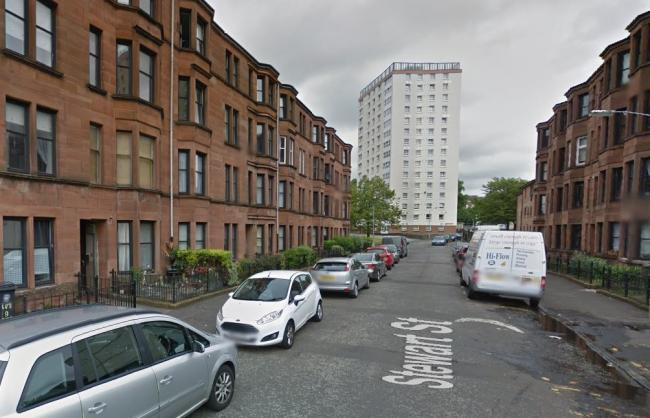 The assault took place at Stewart Street (Image: Google)