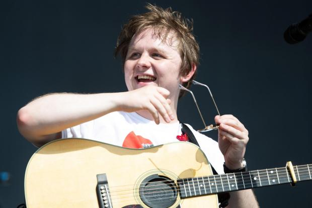 Clydebank Post: Lewis Capaldi appears to be enjoying the feud