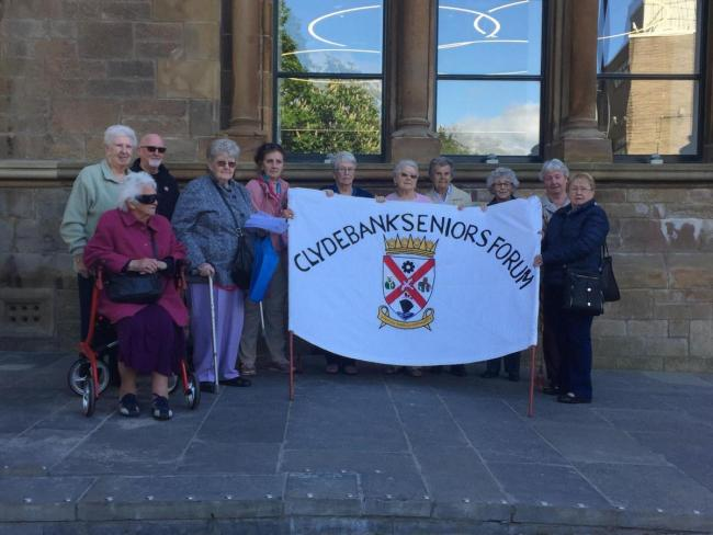 Clydebank Senior's Forum are worried about the price hike