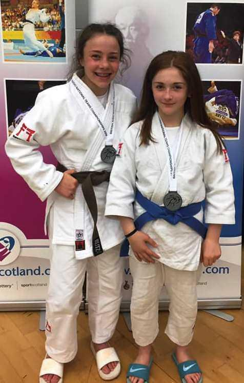 Clydebank Post: Sophie and Emma came home from the National Team Championships with well-deserved silver medals