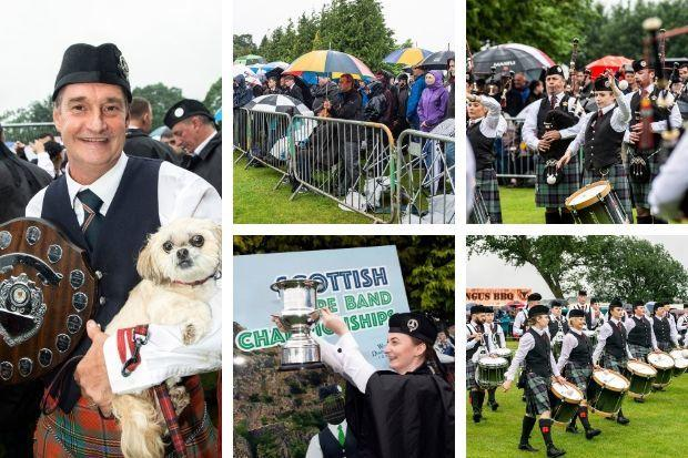 Scottish Pipe Band Championships, West Dunbartonshire, 2019