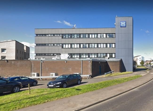 Clydebank police office