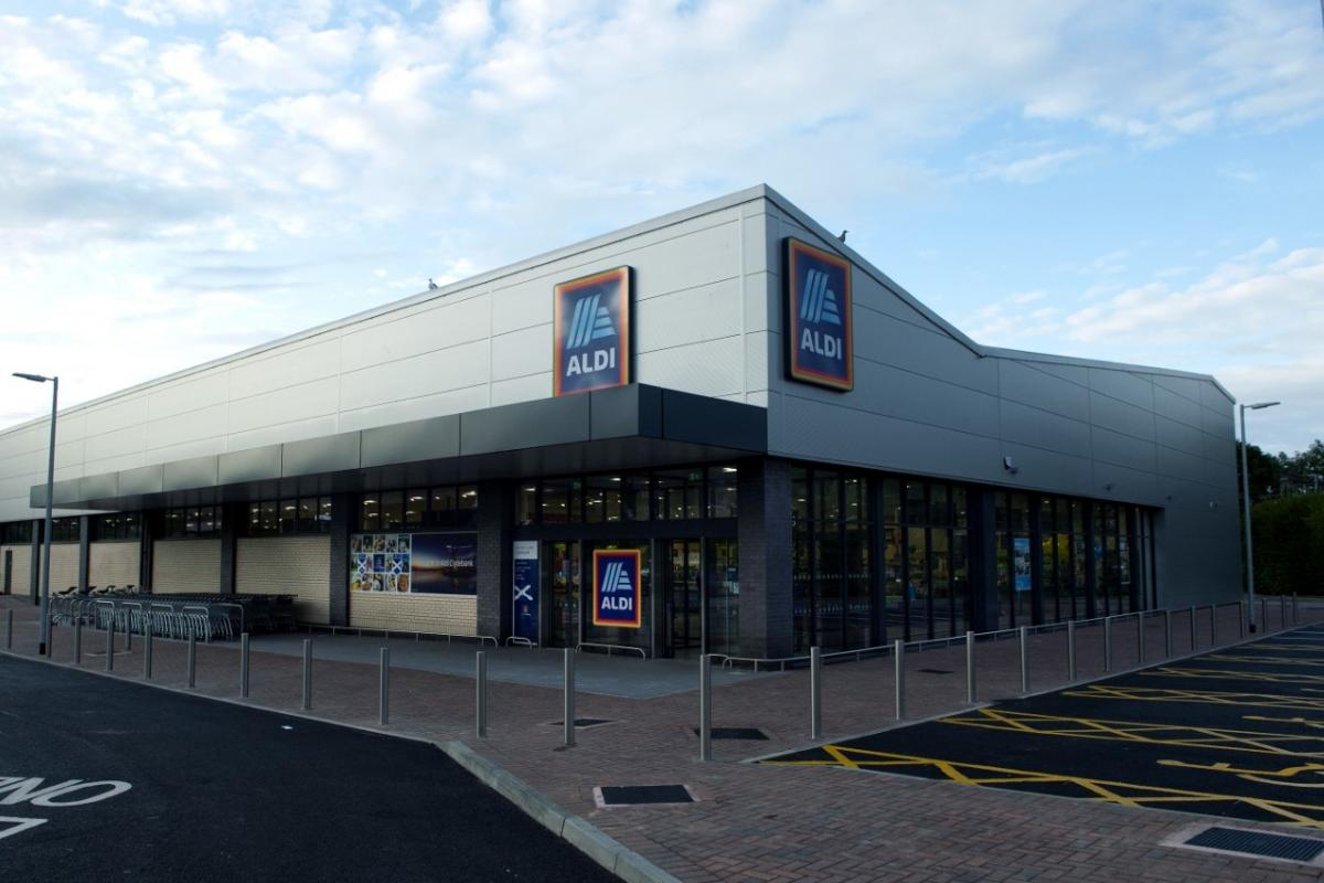 Take a look inside Clydebank's refurbished Aldi store