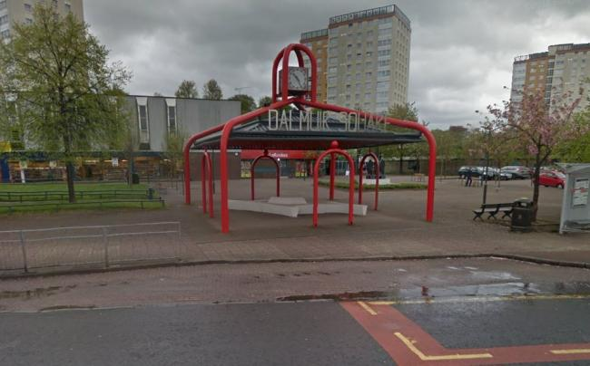 Man, 55, filmed getting 'paint thrown over him' in Dalmuir
