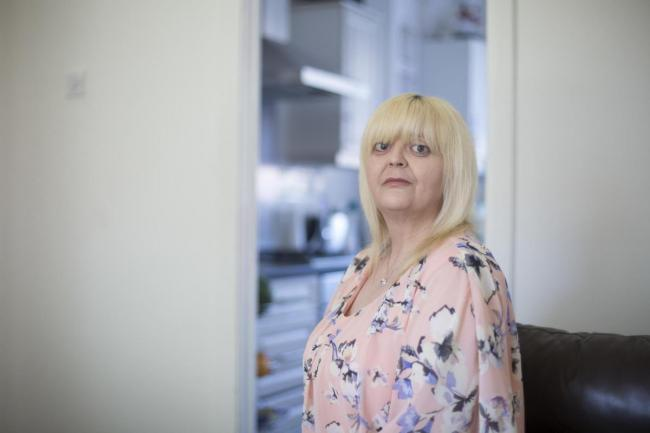 Linda McDonald, disabled and former homeless Glaswegian who was moved from pillar to post within the city's homelessness service. Credit: Shelter Scotland