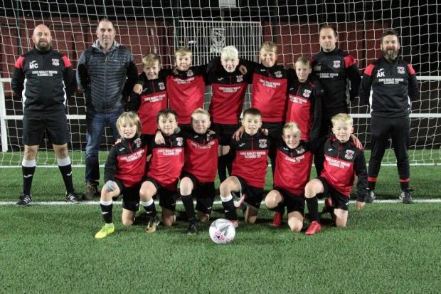 Clydebank Post: The young Bankies look the part thanks to Manley Window Cleaning Ltd
