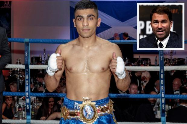 The former British champion has joined Eddie Hearn's promotion team