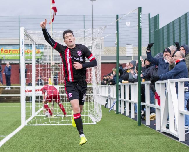 The ever-reliable Nicky Little grabbed a brace to rescue a point for Clydebank (Photo: Stevie Doogan)