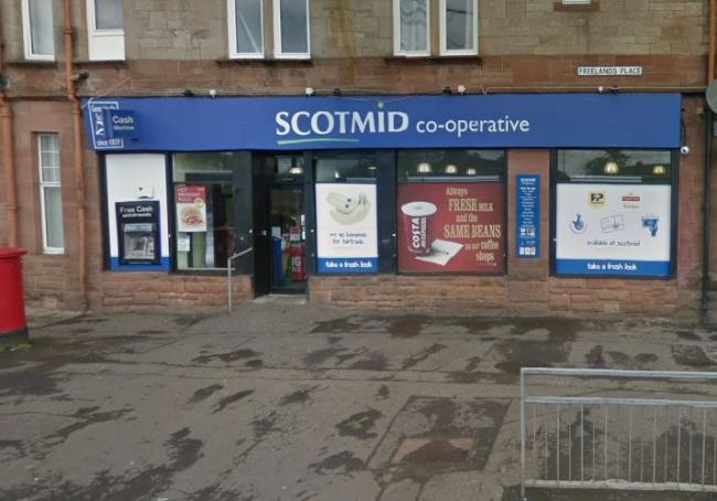 'Elderly' woman stole a bottle of Prosecco from Scotmid