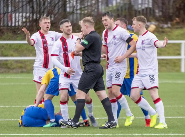 Ben Cameron's brief run in the Clydebank senior squad last season was ended when ref Gary Hanvidge showed him the red card for an innocuous-looking challenge during the Bankies' 4-2 defeat to Hurlford in the West of Scotland Cup in January - but t