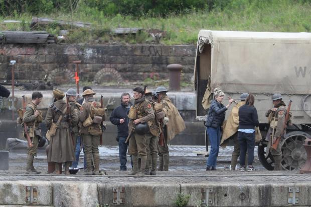 Clydebank Post: Filming of 1917