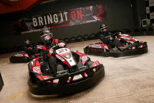 ScotKart Clydebank offering customers special price of 60p per lap this month