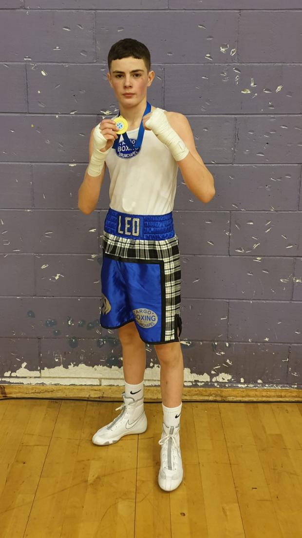 Clydebank Post: The youngster's winter training block paid off with two golds last month