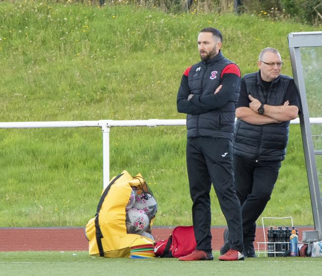 Bankies boss Moffat admits his side looked lethargic in their last outing (Photo: Stevie Doogan)