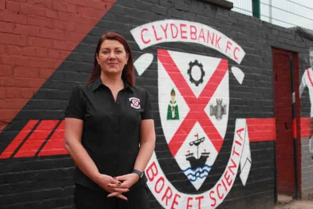 Clydebank FC chairman Grace McGibbon