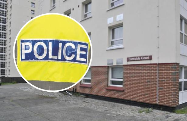 Man, 49, taken to hospital after being assaulted in Dalmuir flat