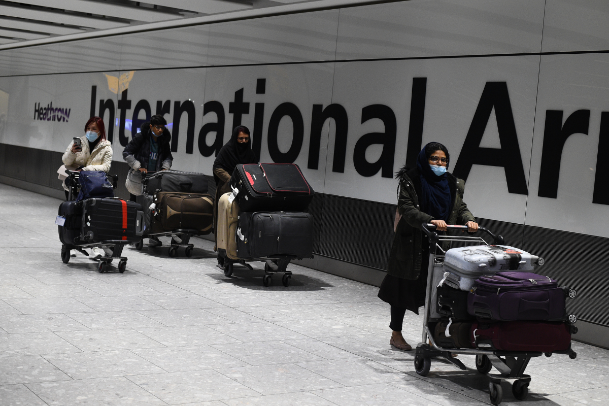 Latest facts about travel  abroad and Scotland's international restrictions