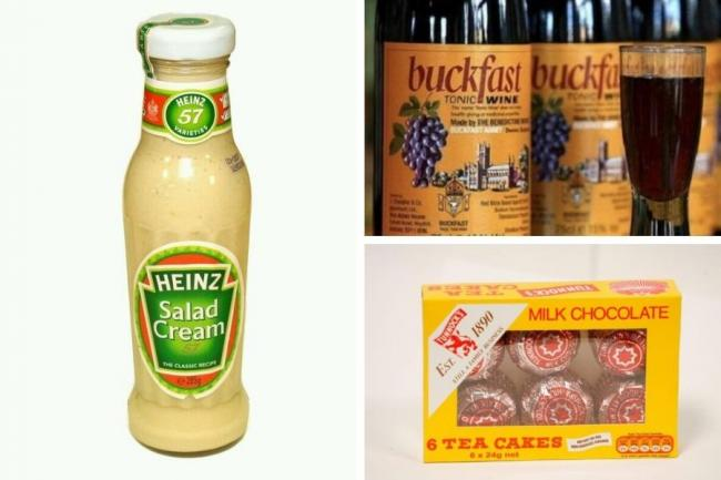 Here we list six weird Scottish food combinations
