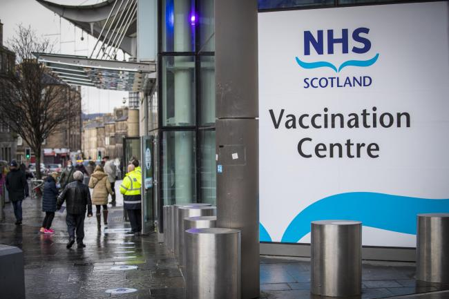 Five Scots health boards have vaccinated over a third of their population - check your local stats