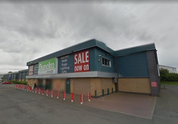 Clydebank Post: The former Dunelm store on Livingstone Street is to be transformed into Clydebank's second B&M - after Dunelm moved to the Clyde Shopping Centre