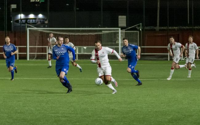 Clydebank haven't played a game since this 4-1 win over Cumbernauld United on December 29 (Photo - Stevie Doogan)