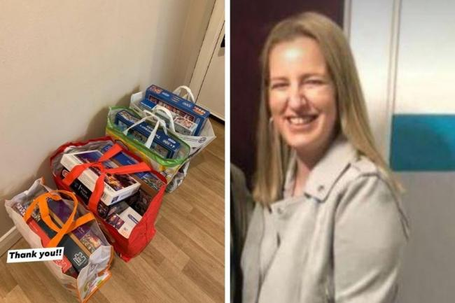 "Jennifer Rough, who lives in Whitecrook, posted an appeal on Facebook asking Bankies for donations of unwanted jigsaw puzzles to help her elderly neighbour - and got an ""unbelievable"" response"