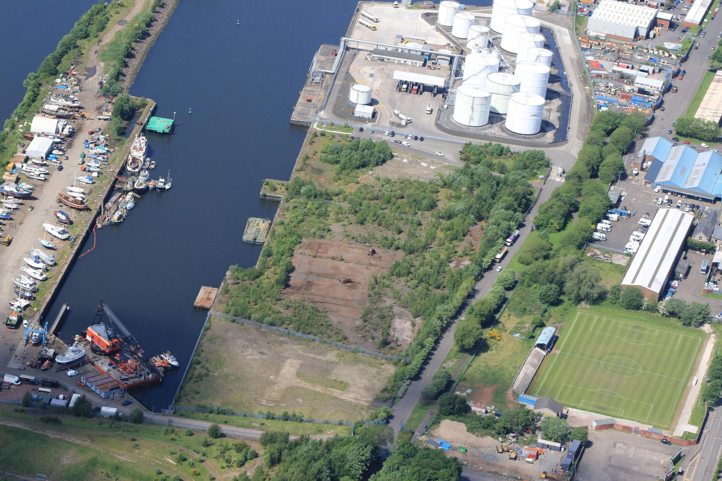 Clydebank's new £20m plastics centre on Rothesay Dock set to lead to 24 new jobs