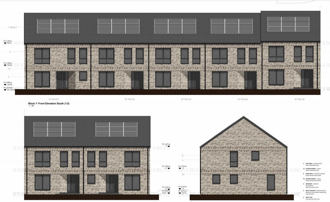 New Yoker homes to replace demolished high flats next to train station