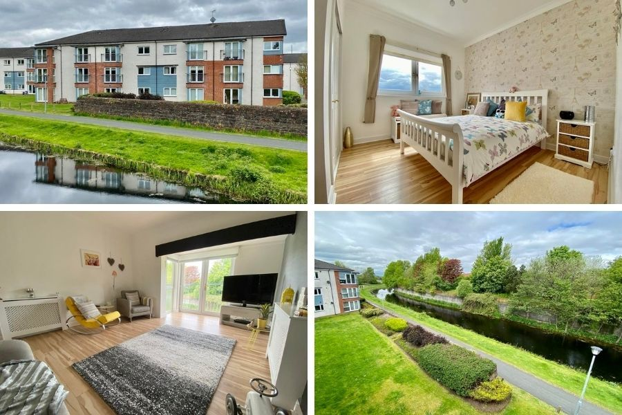 Clydebank property: Two-bed flat in town centre is deceptively spacious
