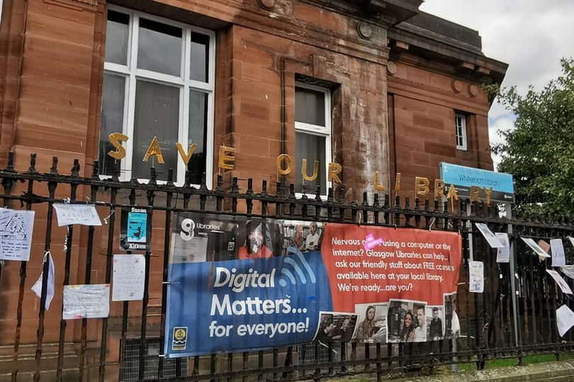 Glasgow Life: Authors back Save Whiteinch Library campaign