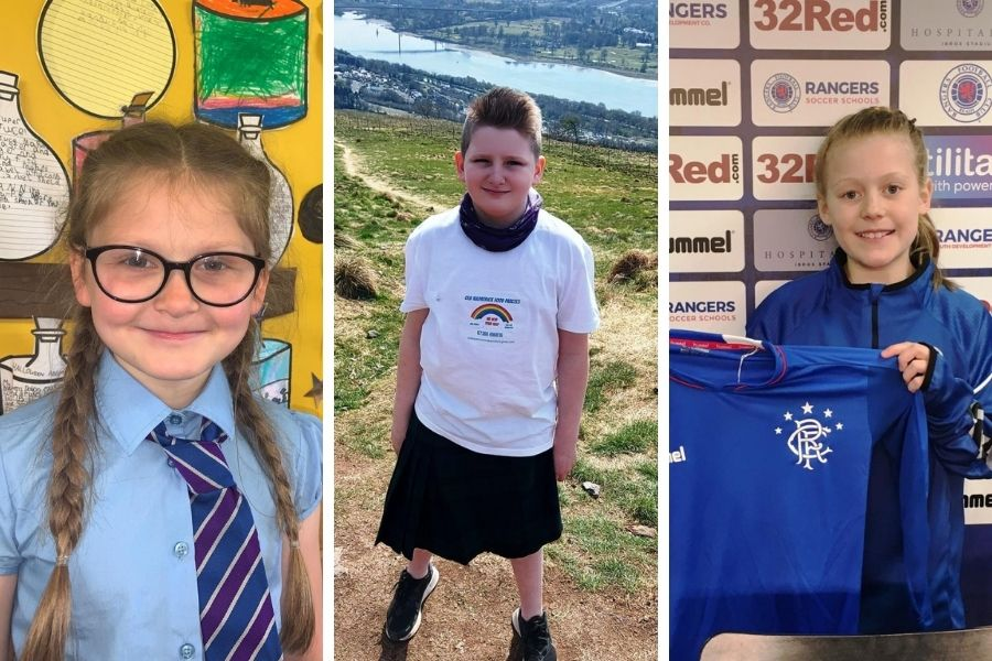 Young Sports Star: Clydebank pupils from schools named as area's winners for June