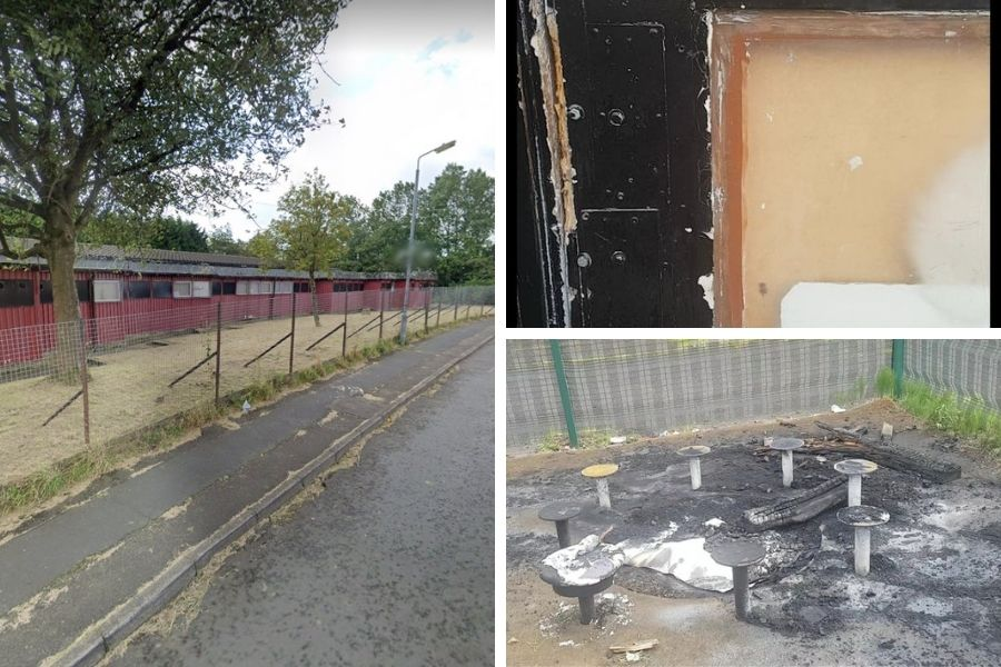 Old Stonedyke Neighbouring Centre torched by Drumchapel firebugs