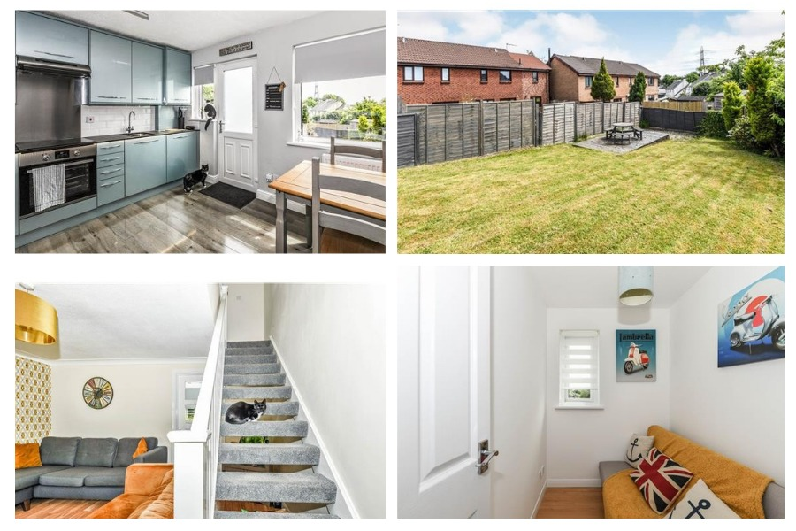 Clydebank Property: Three bedrooms and spacious garden catch the eye in village