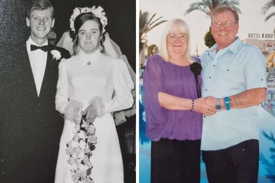 Loving Faifley couple Carol and William tied the knot 50 years ago this week