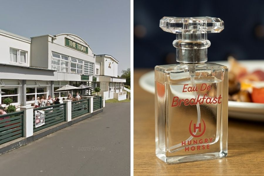 Titan Hungry Horse in Clydebank releases 'full English breakfast' perfume