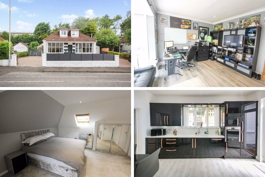 Clydebank property: Luscious three-bedroom bungalow is full of unique features