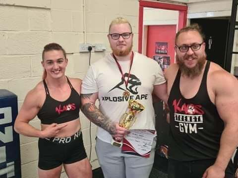 Parkhall's Aidan Robb wins the first UK Teenage Strongman title