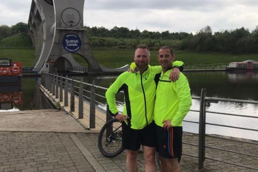 Bankie Alex and friend Jonny set to take on West Highland Way for brave cancer girl Poppy