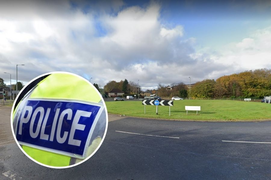 Clydebank crime: Two cyclists threatened at Hardgate roundabout by motorist