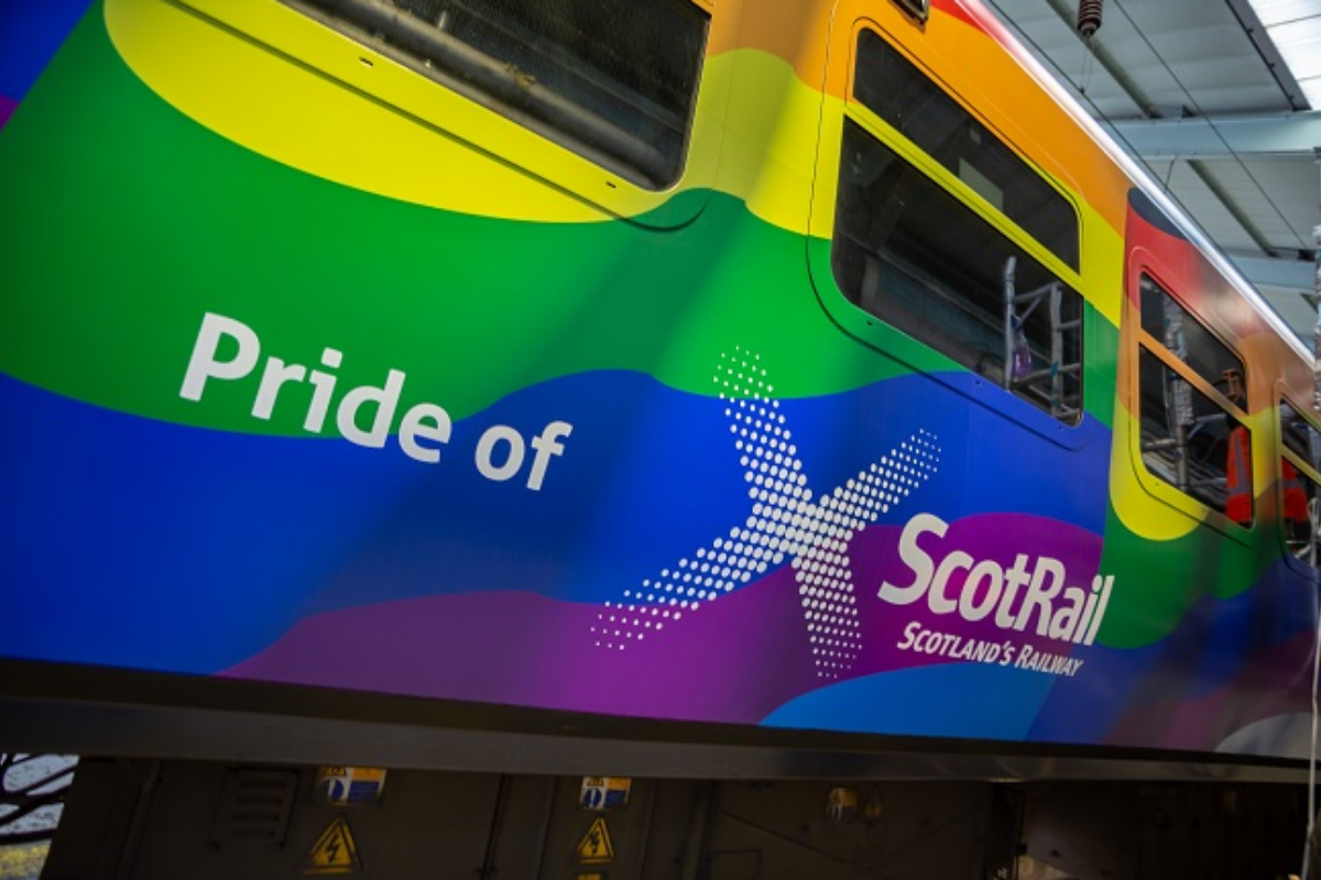 New 'Pride of ScotRail' train will pass through Clydebank