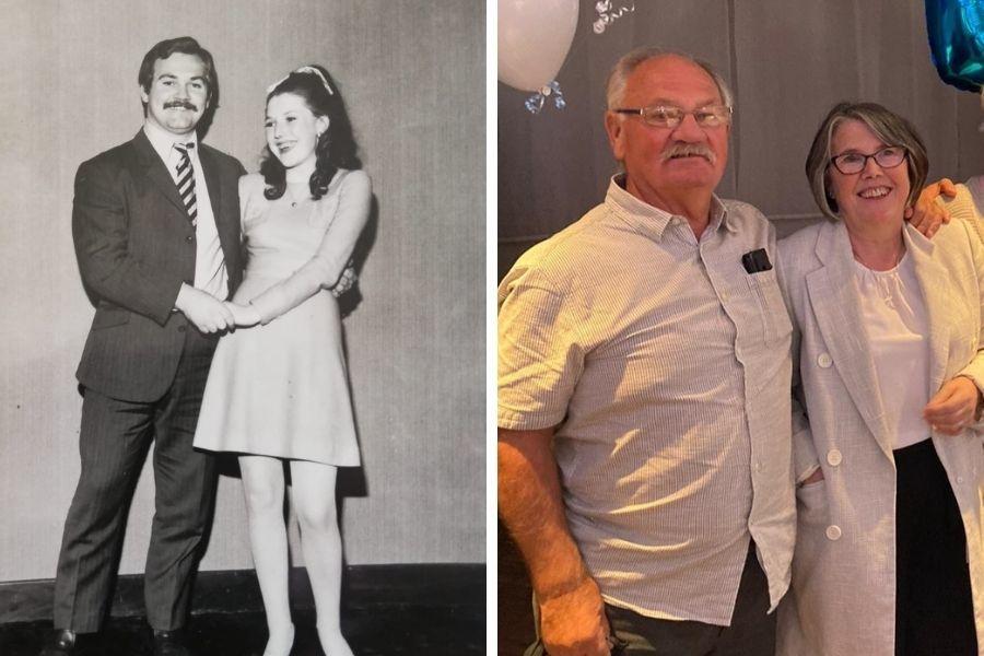 Golden wedding anniversary: Drumry Herbert and Edith's joy after 50 happy years