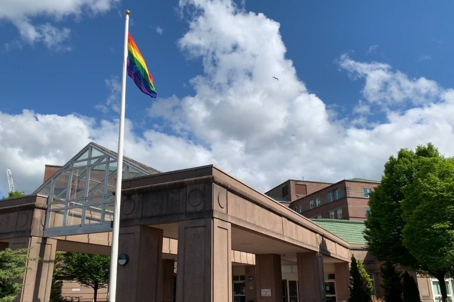 Pride month: Clydebank's Golden Jubilee committed to LGBT equality