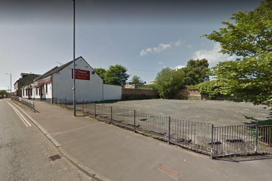 Duntocher Glenhead Tavern car park container bid refused