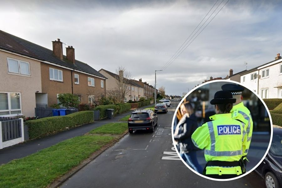 Clydebank crime:  North Drumry man arrested for an alleged disturbance