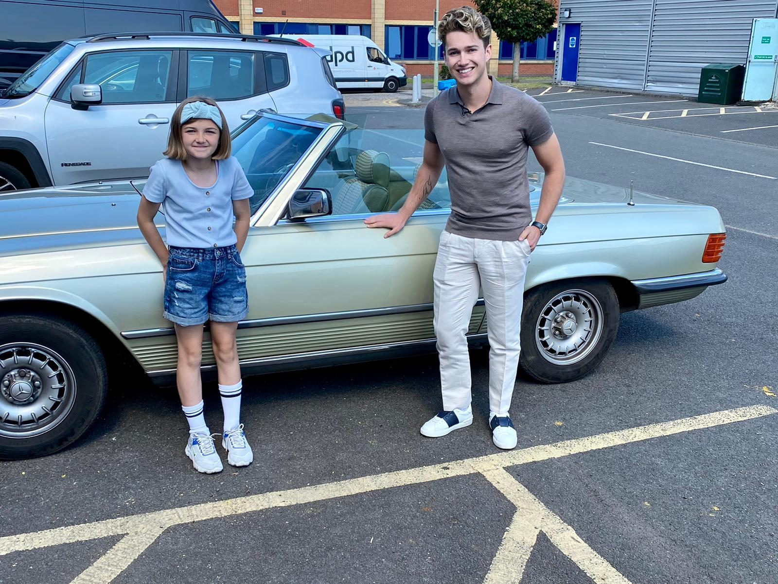 Strictly Come Dancing star AJ Pritchard visits Clydebank's Kean On Antiques for BBC show