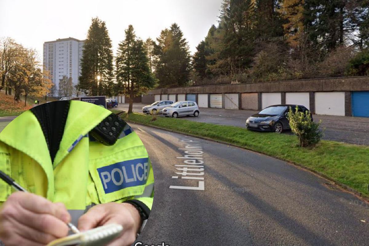Clydebank crime: Firebugs torch stolen car near Mountblow flats