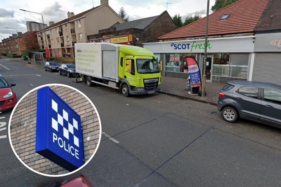 Scotstoun crime: Four-year-old girl taken to hospital after hit and run