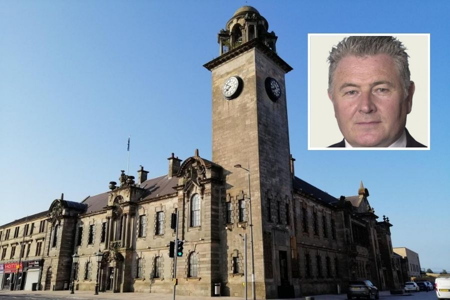 Clydebank Town Hall: Bailie Denis Agnew bid to ban Bankies from booking for functions